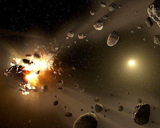 Waar komen meteorieten vandaan?