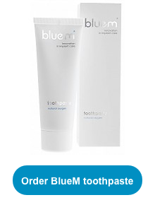 BlueM toothpaste