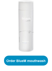 BlueM mouthwash