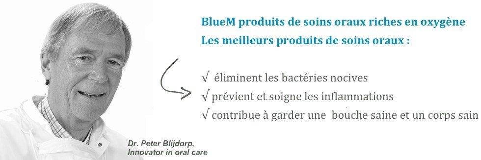 BlueM produits de soins oraux riches en oxygène