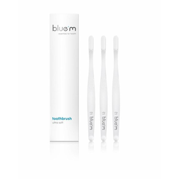 set 3 x BlueM toothbrush ultra soft