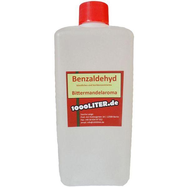 1000 ml Benzaldehyd - Bittermandel Öl Marzipan Mandelaroma Amaretto Backaroma