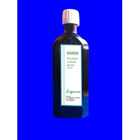 DMSO 250 ml 99,9 % reinst in Braunglasflasche