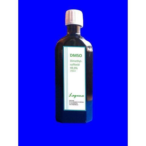 DMSO 250 ml 99,9 % reinst in Braunglasflasche