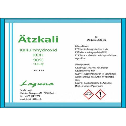 Ätzkali Kaliumhydroxid KOH 1kg