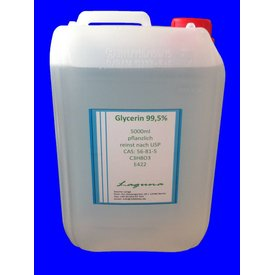 20 Liter Glycerin 4x5L E422 reinst nach USP 99,5% C3H8O5