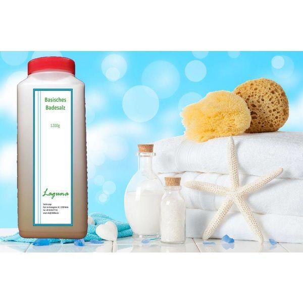 3.600 g Basisches Bade-Salz Badesalz Basen Spa Wellness Bad Salz Körper 3,6 kg