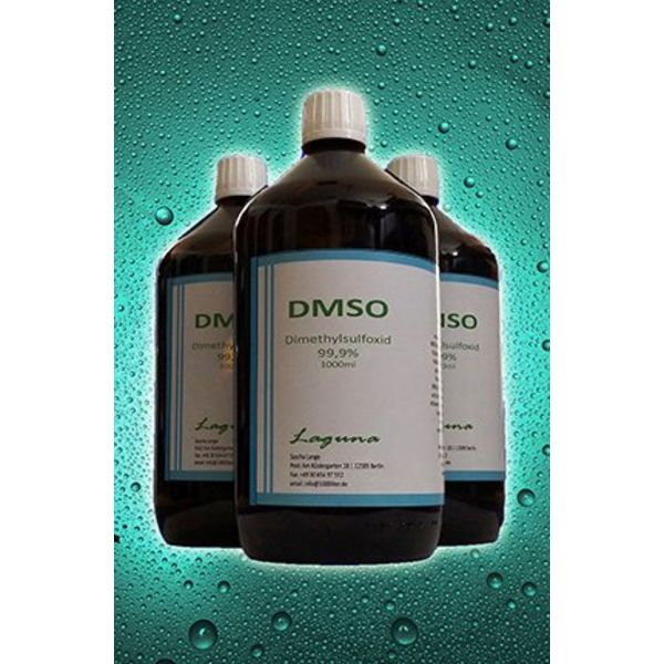 1000ml Dimethyl Sulfoxide 99,9% in Glassbottle