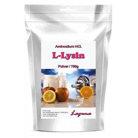 750g L-Lysin Pulver Aminosäure HCL