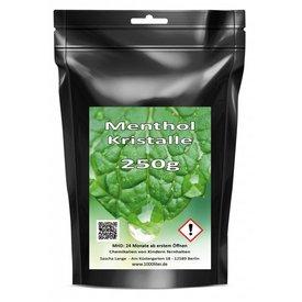 500 g Menthol Mentholkristalle Minze pharmazeutische Qualität für Saunaaufguß
