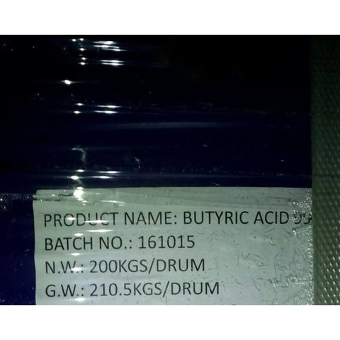 butyric acid 800kg - you have to organize the transport, pick up in Germany