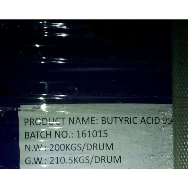 butyricc acid 800kg - you have to organize the transport, pick up in Germany