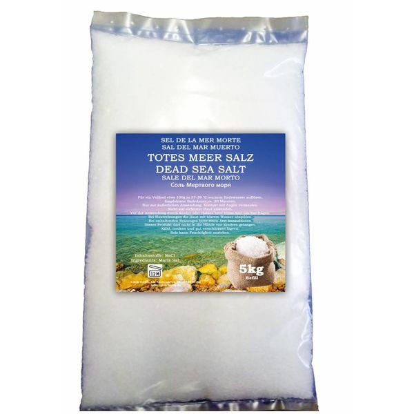 Totes Meer Salz 5000g Badesalz Bad Salz Spa Entspannung 5kg Badezusatz Nachfüllbeutel …