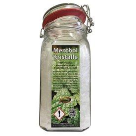 Mentholkristalle 600g Minze Menthol pharmazeutische Qualität im Glas Saunaaufguß 0,6kg