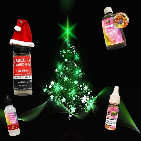 E Liquid  Weihnachts Set