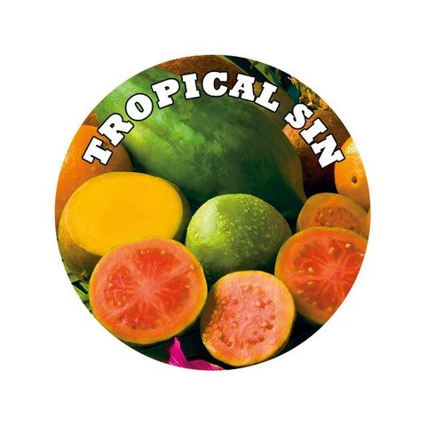 Easy Liquid tropische Früchte Overdosed Shake and Vape 100ml