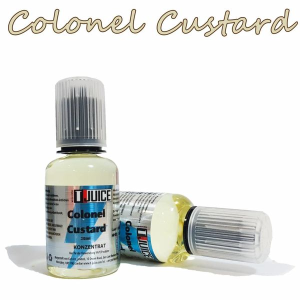 Colonel Custard  Aroma 30ml by T Juice