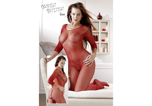 Mandy mystery Line Catsuit rot One Size
