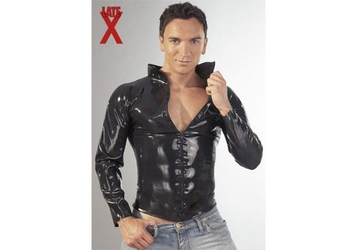 The Latex Collection Latex-Shirt mit Zip
