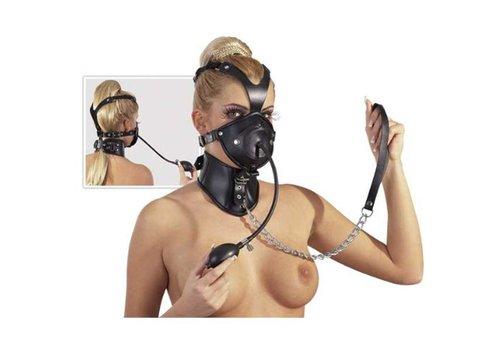 Zado Leder Kopfmaske