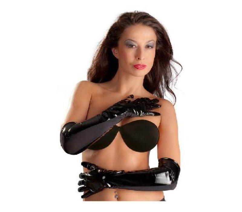 Lack-Handschuhe