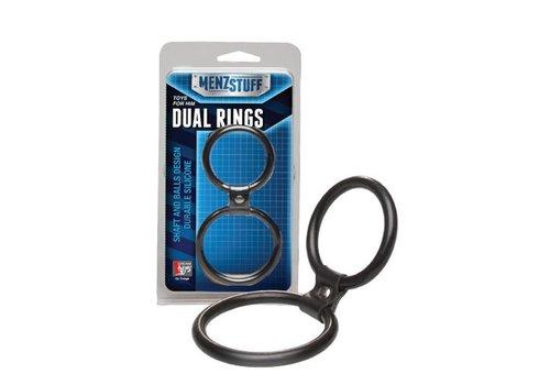 Menzstuff Dual Rings - Black