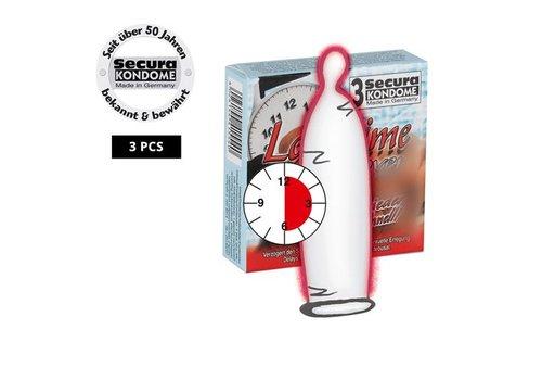 Secura Kondome Secura Longtime Lover Kondome -3 Stück