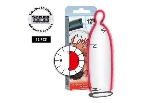 Secura Kondome Secura Longtime Lover Kondome - 12 Stück