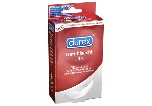 Durex Durex Sensitive Ultra Kondome - 10 Stück
