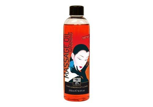 Shiatsu Shiatsu Massageöl - Warming