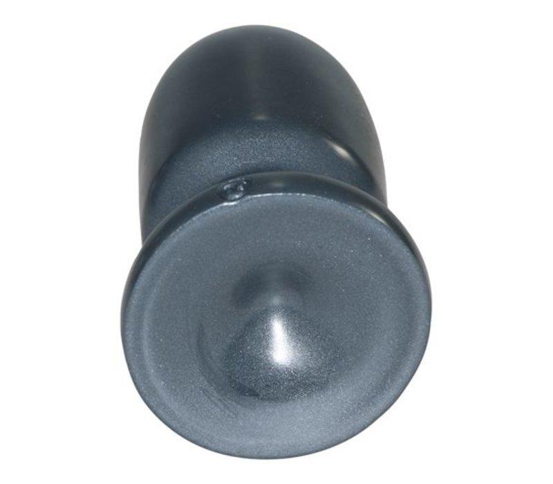 Runder und dicker Dildo in Grau