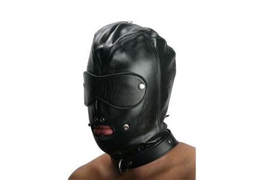Strict Leather Einschüchternde verschließbare Kappe aus Leder