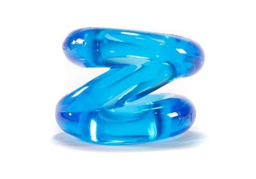 Oxballs Oxballs Ballstretcher und Cockring - Blau