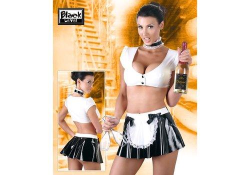 Black Level 3-teiliges Kellnerinnen-Set