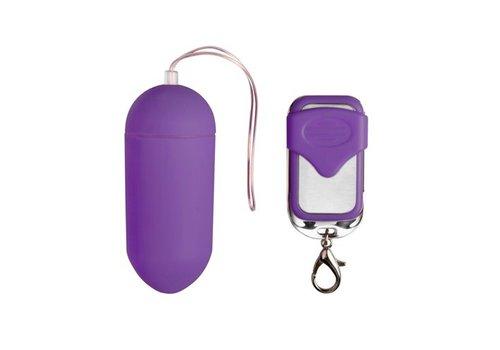 Easytoys Mini Vibe Collection Vibrierendes Ei mit Fernbedienung - Violett