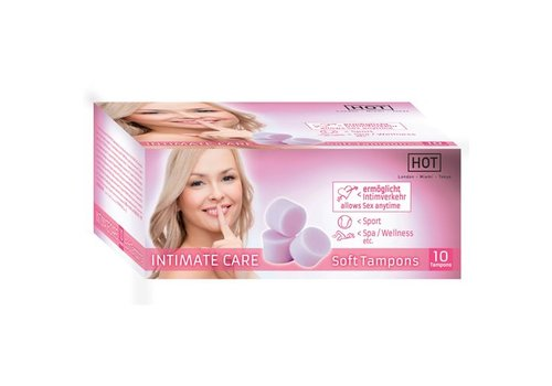 HOT HOT Intimate Care Soft Tampons