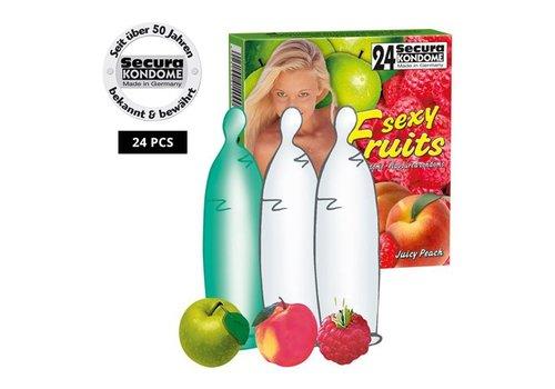 Secura Kondome Secura Sexy Fruits 24er
