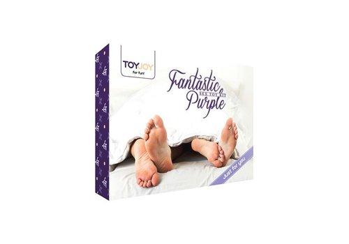 Toyjoy Set Sexspielzeug 9 Stück in Violett