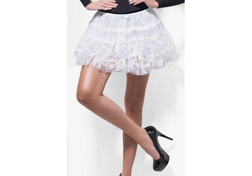 Fever Fever – Petticoat aus Spitze in Weiß