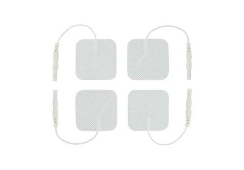 Zeus Electrosex Electrosex Zelfklevende Siliconen Pads - 4 Stuks