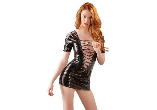 Black Level Lack-Kleid
