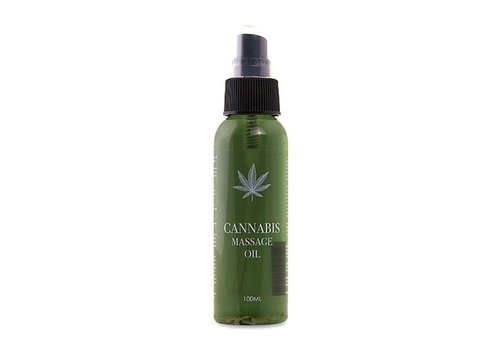 Pharmquests Cannabis Massage Öl - 100 ml
