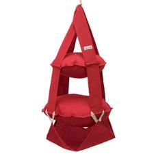 2k trapeze jute rood