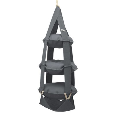 3p Trapeze jute grey