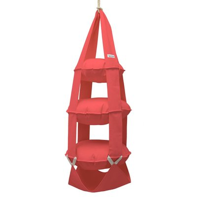 3k trapeze katoen rood