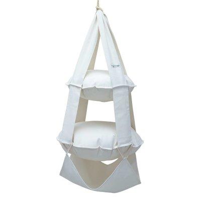 2p trapeze cotton bleached (white)