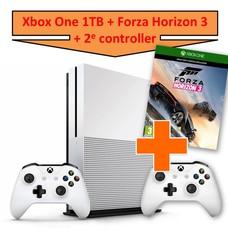 Microsoft Xbox One S Console 1TB + Forza Horizon 3 + 2e Controller