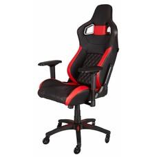 PC Corsair T1 RACE Gaming Chair - Black / Red