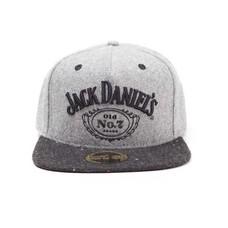 Merchandise Jack Daniels - Logo - Snapback - Grijs