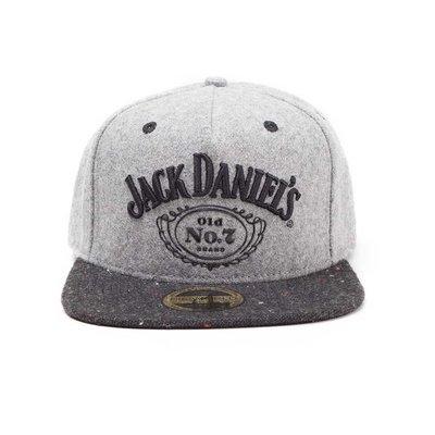 Merchandise Jack Daniel's - Logo - Snapback - Grijs